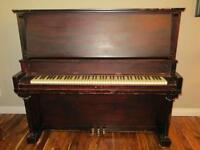 Stand up Baby Grand Piano