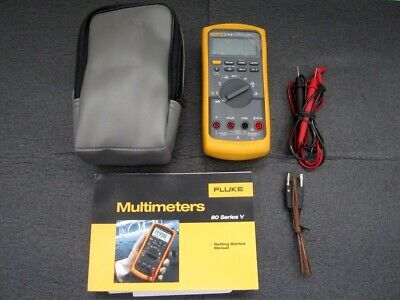 Fluke 87v Industrial True-rms Volt Multimeter With C25 Case Made In Usa