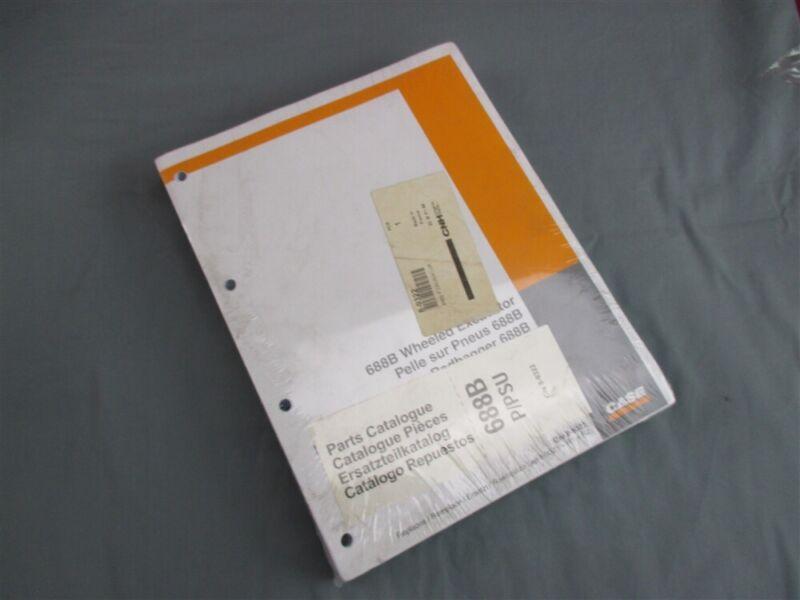 NOS Case 688B Wheeled Excavator Parts Catalog 8-932 March 1996