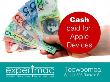 Wanted: BUYING ALL MacBooks, iPhones and iMac's FOR CASH!