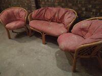 3 piece conservatory suite
