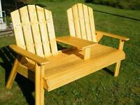 Wooden Chairs, Wooden Benches