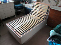 Electric adjustable bed in very good condition.