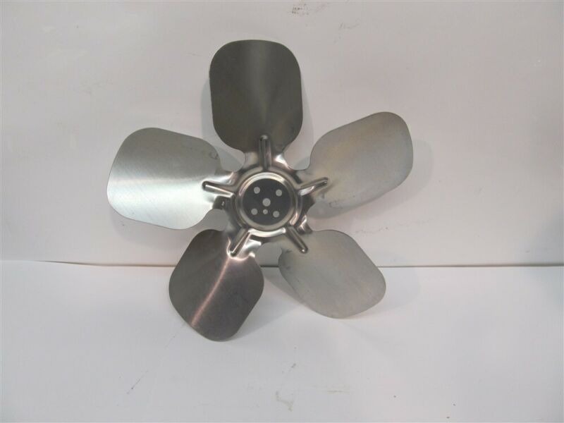 "Metal Fan Blade 10"" Diameter,5 Blade,1/4"" Center Hole"