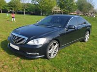 Mercedes S350CDI Bluetec AMG Styling, TV/DVD, '11' reg P/X, Finance & Credit Cards Welcome