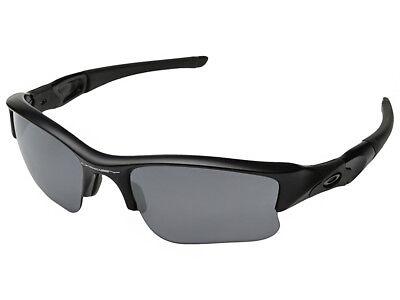 Oakley Flak Jacket XLJ Sunglasses 24-434 Matte Black/Black (Oakley Flak Jacket Xlj Polarized Sunglasses)