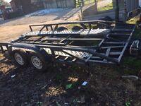 Car tilt transporter trailer