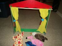 Alex Tabletop Puppet Theater
