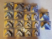 18 Packs Of Heavy Duty Angle Brackets - 146 Brackets In Total