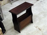 Magazine newspaper rack shelf floor standing 50 x 48 cm