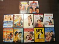 Selection de 11 DVD