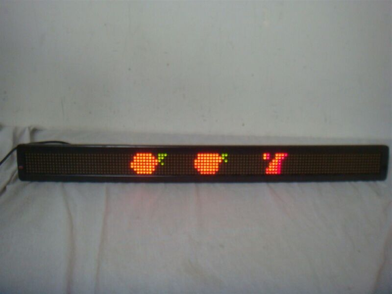 """ADAPTIVE MICRO SYSTEMS ALPHA 220C 38"""" COLOR LED MESSAGE SIGN"""