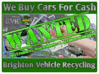 All Scrap Vehicles Collected Uckfield & Throughout Sussex [Cars, Vans & 4x4s] Cash Waiting