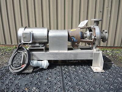 1.5 X 1 Hayward Gordon Centrifugal Pump Sanitary