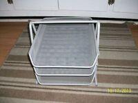 desktop 3 basket paper tray