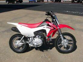 Honda Crf 110 Semi-automatic pit bike