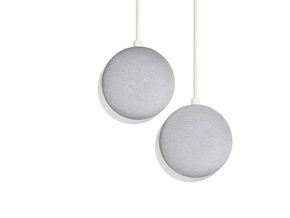 2 Pack Bundle - Google Home Mini (Chalk)