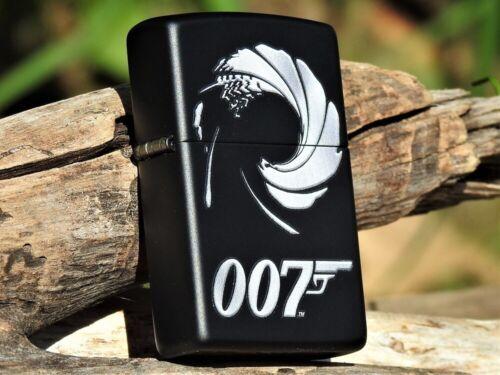 Zippo Lighter - James Bond 007 - Vector Logo - Sean Connery - Daniel Craig