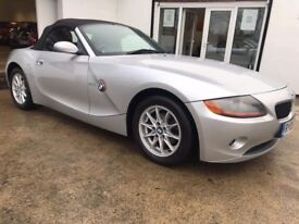 2005 BMW Z4 2.0I SE ROADSTER SIMPLY STUNNING CONVERTIBLE F.S.H