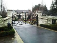 Ornamental gates custom made