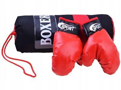 Boxhandschuhe Sports Boxsack Boxset Spielset Boxtraining Tranning Sack NEU (Boxhandschuhe Spielen)