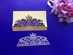 Metal Die Cutter Handmade Wedding Invitations Envelope Border Cutting Die DC1075