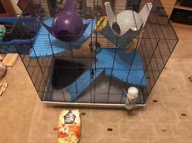 Large rat/ferret cage hutch enclosure