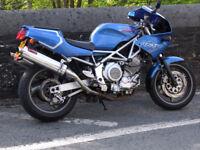 Yamaha TRX 850, 1999, new mot