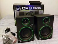 Mackie CR3 Studio Monitors - Immaculate - 5 Months Old