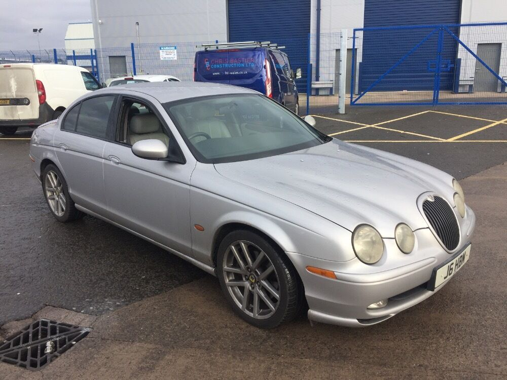 jaguar s type sport v6 silver 2002 in cardiff gumtree. Black Bedroom Furniture Sets. Home Design Ideas