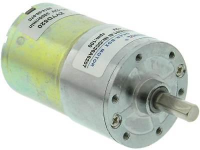 12vdc 100 Rpm Gearhead Motor 32206 Md