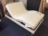 Double Electric Bed With Mattress & Headboard