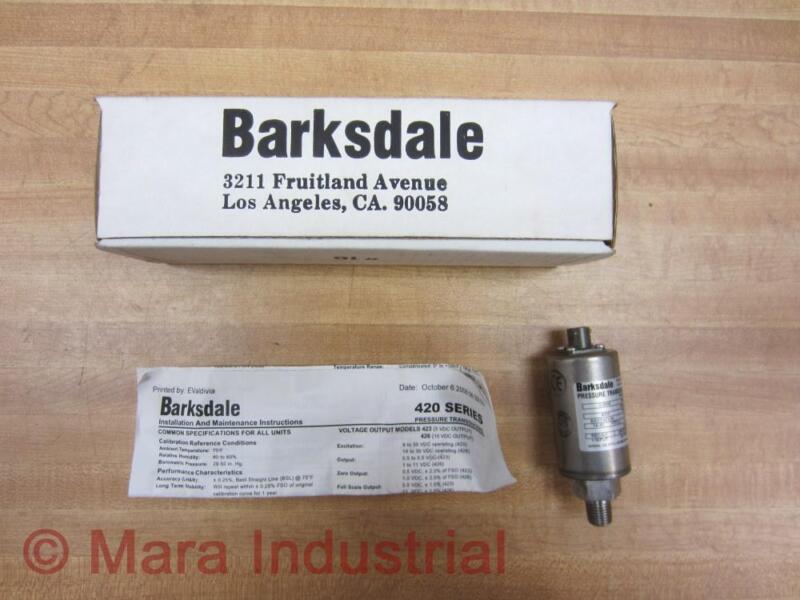 Barksdale 426T2-12 426T212 Pressure Transducer