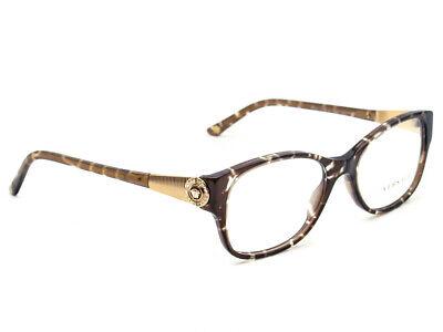 f4e9916f3ee4 Versace Women s Eyeglasses MOD. 3168-B 969 Striped Brown Frame Italy 52  17  135