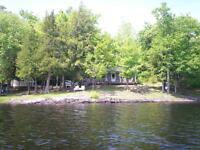 Cottage for rent on Bull Lake Arden, Ontario