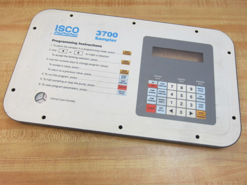 ISCO 3700 3700 Sampler Panel Panel Only