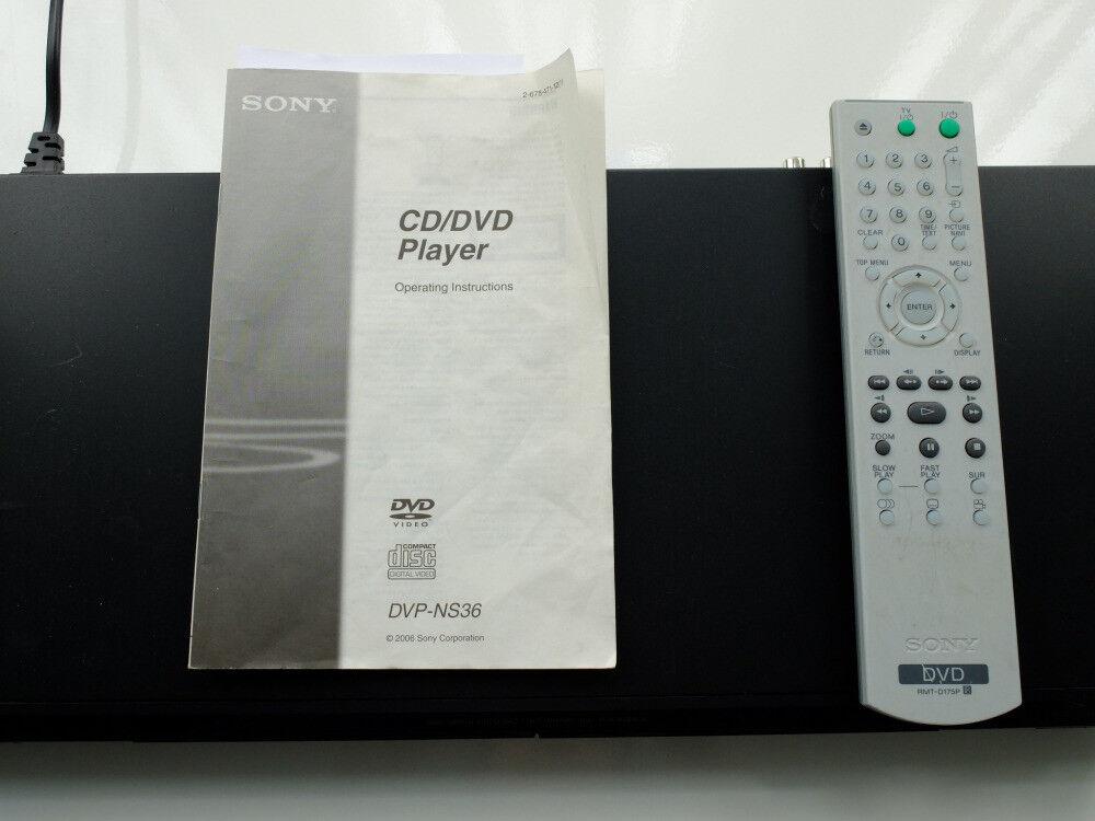 Sony DVD Player DVP-NS36