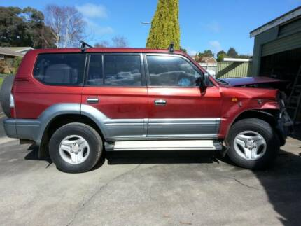 Wrecking low Kms. 2001 Toyota Prado Grande LandCruiser Leongatha South Gippsland Preview
