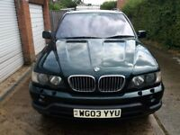BMW X5 4.4i very good condition, fabulous engine, cream leather interior, 7 mos MOT