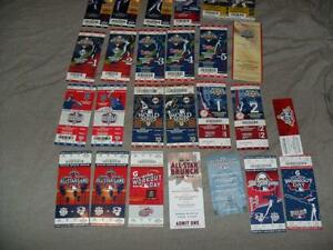 Baseball World Series & A/S Game Tickets 2005-2012 Bobblehead