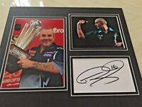 Phil Taylor signed picture!