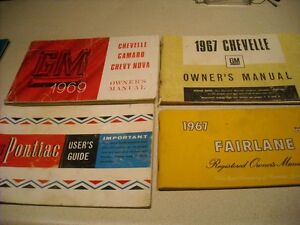 """VINTAGE CAR """"OWNERS MANUAL""""  COLLECTION"""