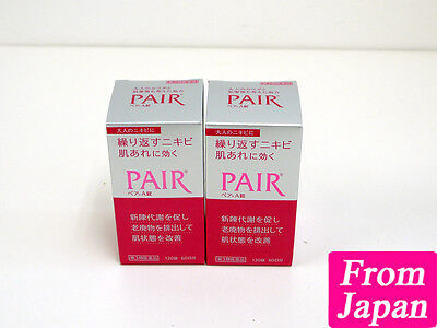 LION Pair A for anti acne 120 tablet x 2 set Vitamin B2 and B6 L-cystein Japan