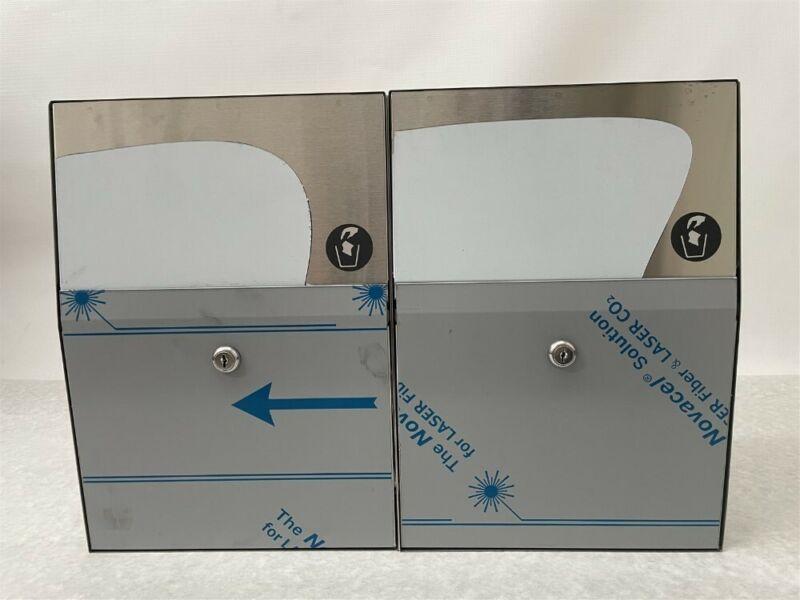 QTY: 2 Bradley BX-Napkin Disposal, Surface-Mount 4722-150000