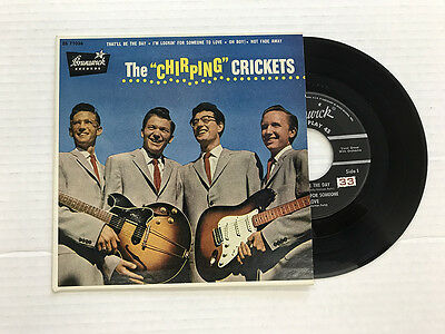 Buddy Holly Chirping Crickets Bruns Ep Eb 71036 1St Press Vinyl 9 0  Cover 9 4
