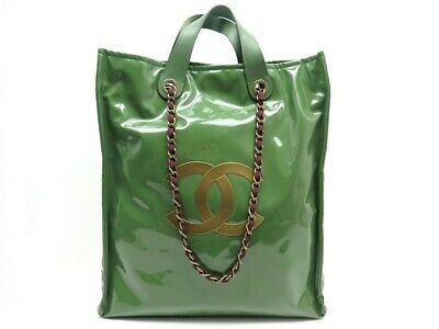Neuf sac a main chanel cabas edition limitee harrods 2012 collector pvc tote bag