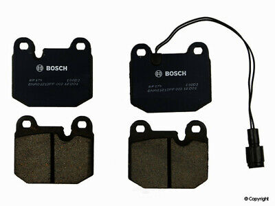 Disc Brake Pad Set-QuietCast Pads with Hardware Front fits 89-95 Subaru Justy