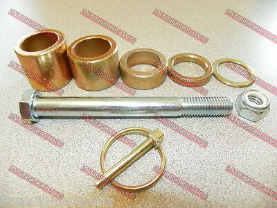Caroni Finish Mower Complete Set Wheel Height Spacer + Axle Bolt 590049C