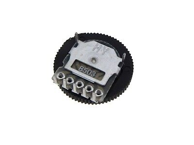 210k Ohm Thumbwheel Potentiometer Pack Of 5