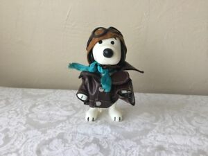 VINTAGE 1966 SNOOPY RED BARON UNITED FEATURE SYNDICATE, INC PLASTIC TOY No res!